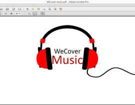 "#14 untuk Design a Logo for ""WeCover Music"" oleh grantmerriam"