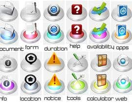 #30 for Icon-Set for Learning System af christianojames