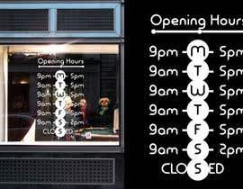 mikomaru tarafından Business Opening Hours/Times Design. için no 10