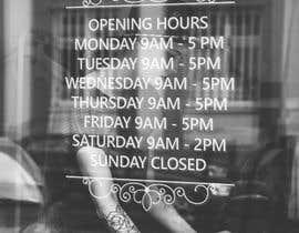 morfinamc tarafından Business Opening Hours/Times Design. için no 20