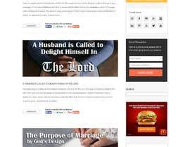 #5 for Design a Website Mockup by webidea12