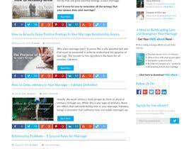 Nro 12 kilpailuun Design a Website Mockup käyttäjältä webmastersud