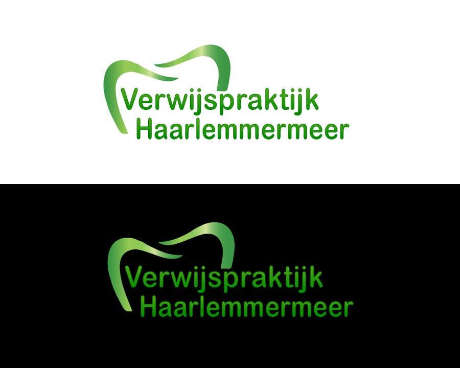 Penyertaan Peraduan #6 untuk Dental logo Verwijspraktijk Haarlemmermeer