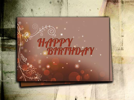 #20 for Design some Stationery for Adult Birthday card by five55555