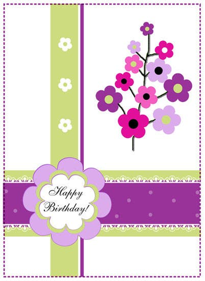 #16 for Design some Stationery for Adult Birthday card by primavaradin07