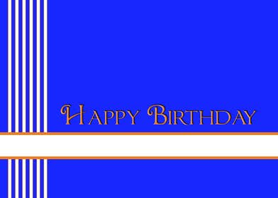 #24 for Design some Stationery for Adult Birthday card by LLInnovations