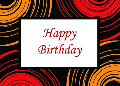 #25 for Design some Stationery for Adult Birthday card by LLInnovations