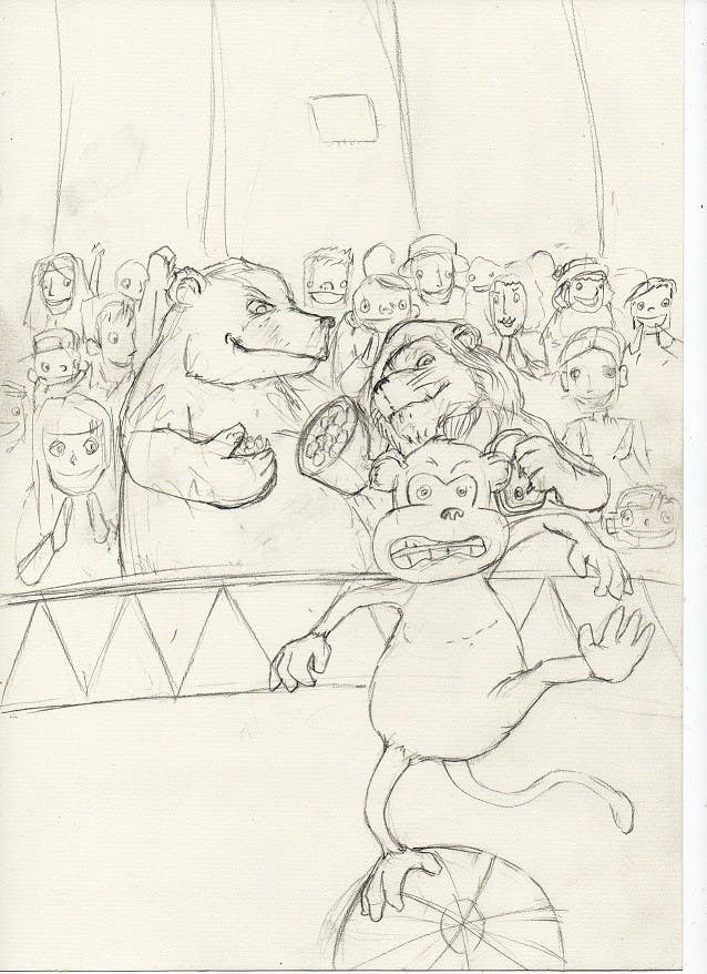 Contest Entry #                                        13                                      for                                         Illustration Design for Childrens Book - Circus Scene