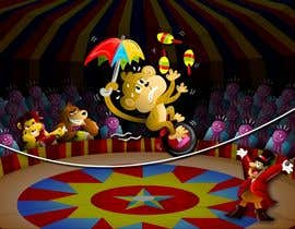 #9 для Illustration Design for Childrens Book - Circus Scene от jacklooser