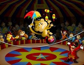#24 untuk Illustration Design for Childrens Book - Circus Scene oleh jacklooser