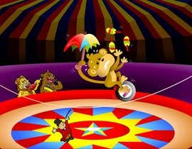 #7 untuk Illustration Design for Childrens Book - Circus Scene oleh jacklooser