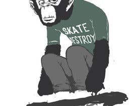 #12 untuk I need an illustration/design of a chimpanzee oleh NickCorpus