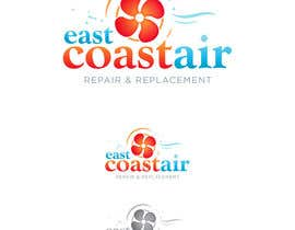 #107 para Design a Logo for East Coast Air conditioning & refrigeratiom por eshtiyak