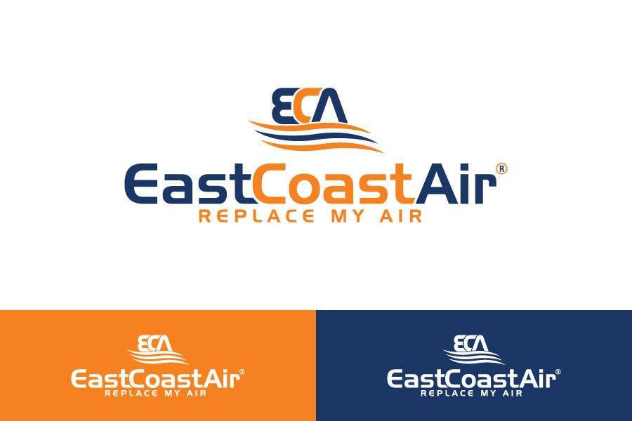 #474 for Design a Logo for East Coast Air conditioning & refrigeratiom by sagorak47