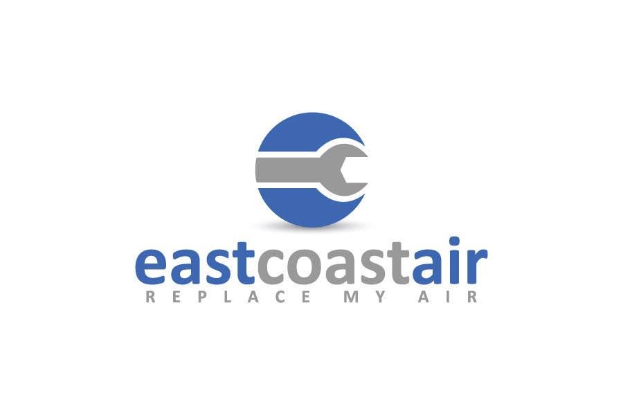 #744 for Design a Logo for East Coast Air conditioning & refrigeratiom by sagorak47