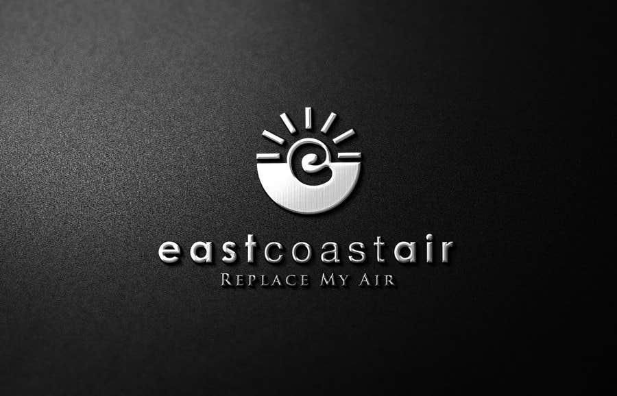 Kilpailutyö #112 kilpailussa Design a Logo for East Coast Air conditioning & refrigeratiom