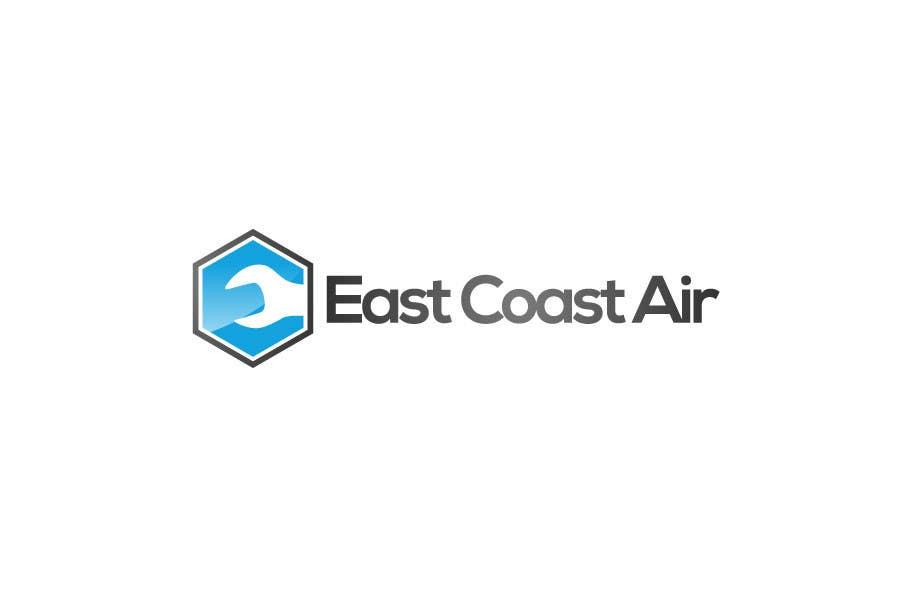 #451 for Design a Logo for East Coast Air conditioning & refrigeratiom by sproggha