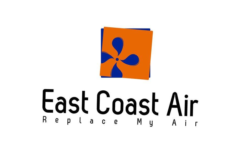 Kilpailutyö #619 kilpailussa Design a Logo for East Coast Air conditioning & refrigeratiom