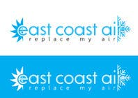 Graphic Design Kilpailutyö #565 kilpailuun Design a Logo for East Coast Air conditioning & refrigeratiom