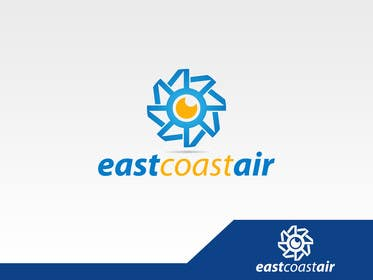 #92 for Design a Logo for East Coast Air conditioning & refrigeratiom by seroo123
