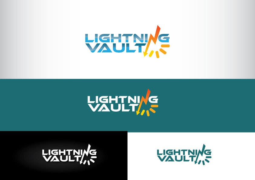 #19 for Design a Logo for LightningVault by GeorgeOrf