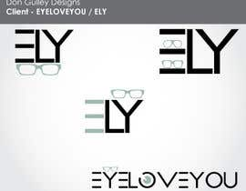 #51 for Logo Design For EyeWear Brand (EYELOVEYOU+ELY) by dongulley