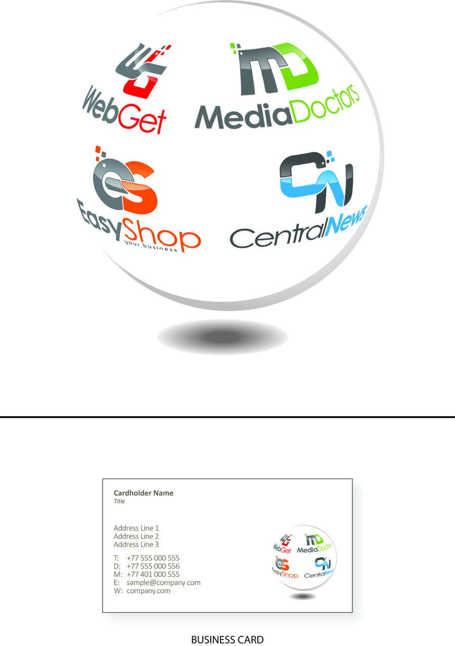 #6 for Visual style for displaying logos by kingsleyreade