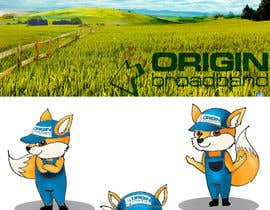 #3 para Illustrate a country scene for a double-sided flyer and a fox por mampang