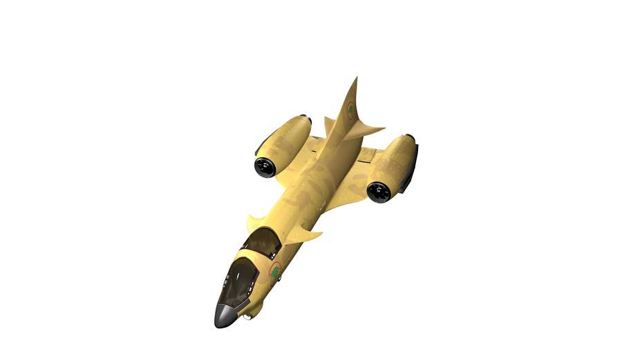 #10 for Do some 3D Modelling for Heavy Star Fighter by cpyton