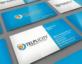 midget tarafından Design some Business Cards for Telplicity Communications, Inc. için no 8