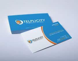HammyHS tarafından Design some Business Cards for Telplicity Communications, Inc. için no 25