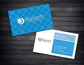 michelleau tarafından Design some Business Cards for Telplicity Communications, Inc. için no 50