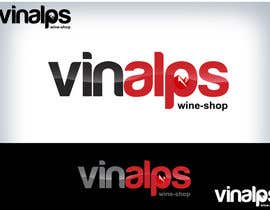 #253 for Logo Design for VinAlps af Clarify