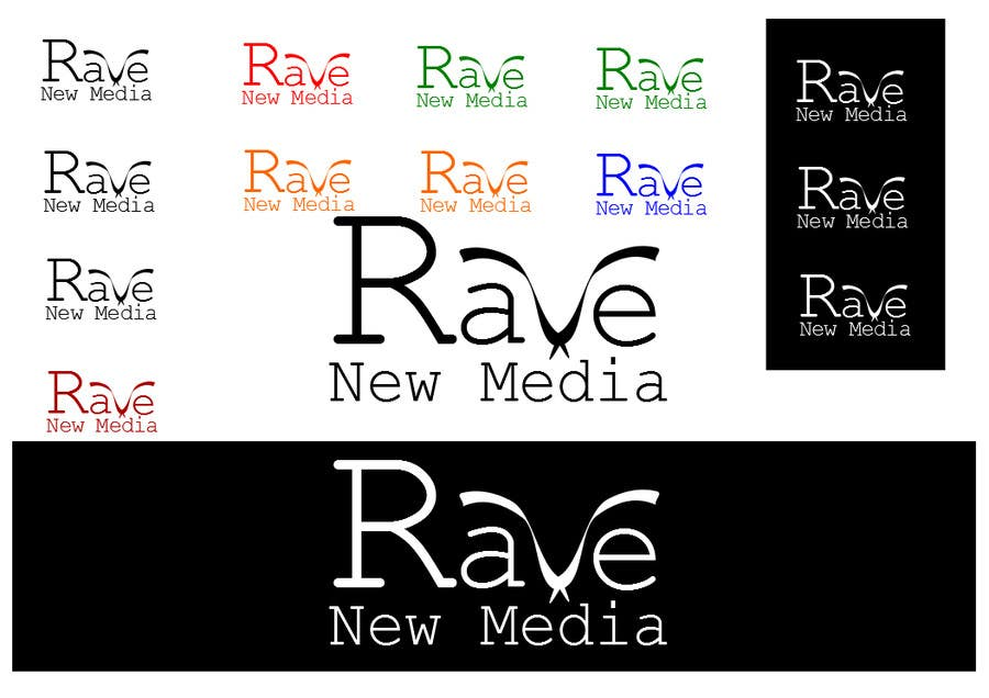 Konkurrenceindlæg #117 for Design a Logo for Rave New Media