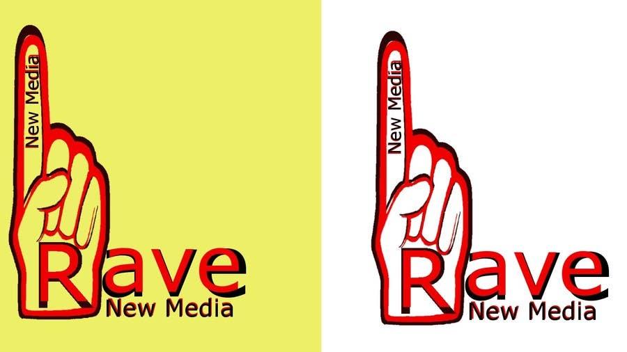 Konkurrenceindlæg #114 for Design a Logo for Rave New Media