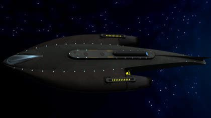 #2 for Do some 3D Modelling for Sci-fi video Game Stealth ship by Hedgecog