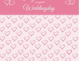 #24 untuk Design some Stationery for a Wedding Congratulations Card oleh pankaj86