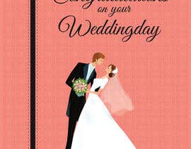 #31 untuk Design some Stationery for a Wedding Congratulations Card oleh pankaj86