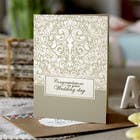 Contest Entry #4 for Design some Stationery for a Wedding Congratulations Card