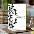 Contest Entry #20 for Design some Stationery for a Wedding Congratulations Card