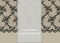 Contest Entry #6 for Design some Stationery for a Wedding Congratulations Card