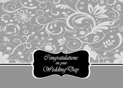 #7 for Design some Stationery for a Wedding Congratulations Card by luciacrin