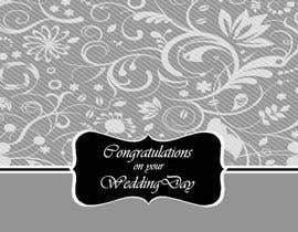#7 para Design some Stationery for a Wedding Congratulations Card por luciacrin