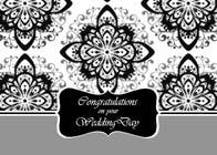 Entry # 8 for Design some Stationery for a Wedding Congratulations Card by