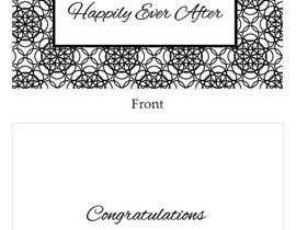 #39 for Design some Stationery for a Wedding Congratulations Card af LLInnovations