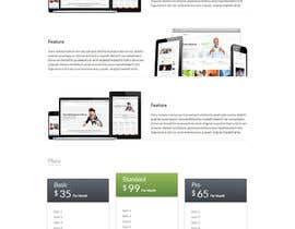nº 7 pour Design of one HTML page based on Bootstrap 3 par bbeckshrestha
