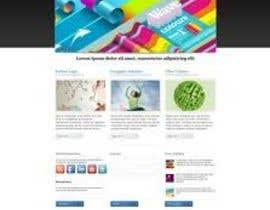 nº 1 pour Design of one HTML page based on Bootstrap 3 par makeit1933