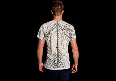 #5 for Tshirt Design Spine and Nervous System by AyratMutygullin
