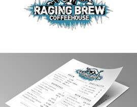 Nro 38 kilpailuun Design a Logo for Raging Brew Coffeehouse käyttäjältä mariacastillo67