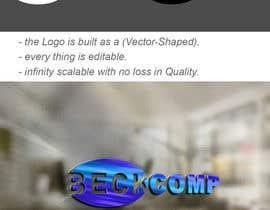 Nro 594 kilpailuun Design a Logo for beckcomp käyttäjältä KhaledZakaria